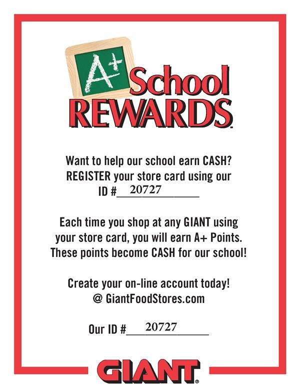 GIANT A+ Rewards