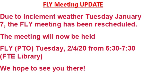 FLY Meeting UPDATE