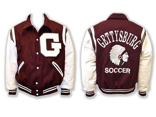 Varsity Jacket with Warrior Head