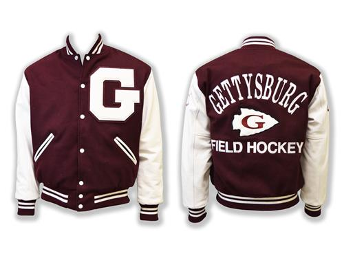 Varsity Jacket with Arrow