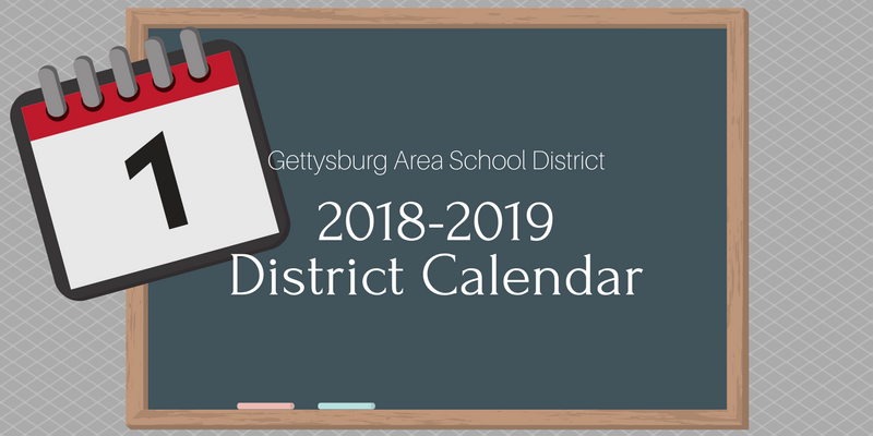 2018-2019 school district calendar approved
