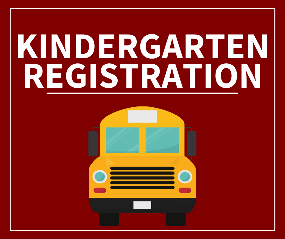 Register your child for kindergarten today!