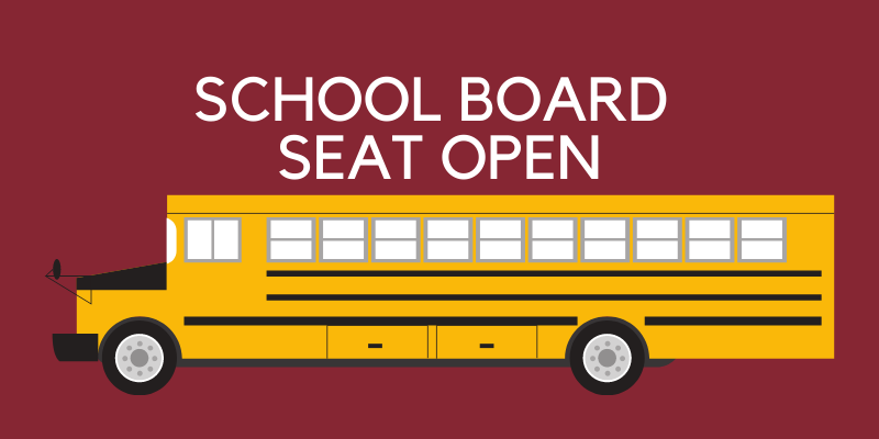GASD accepting applications for open board seat