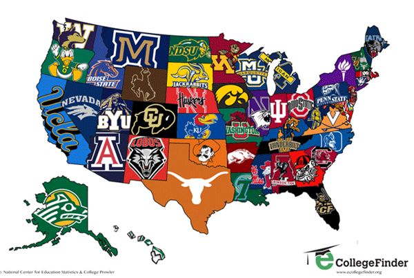 college state map